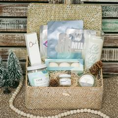 Let it Snow Spa Basket