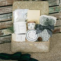 Cozy Holiday Basket