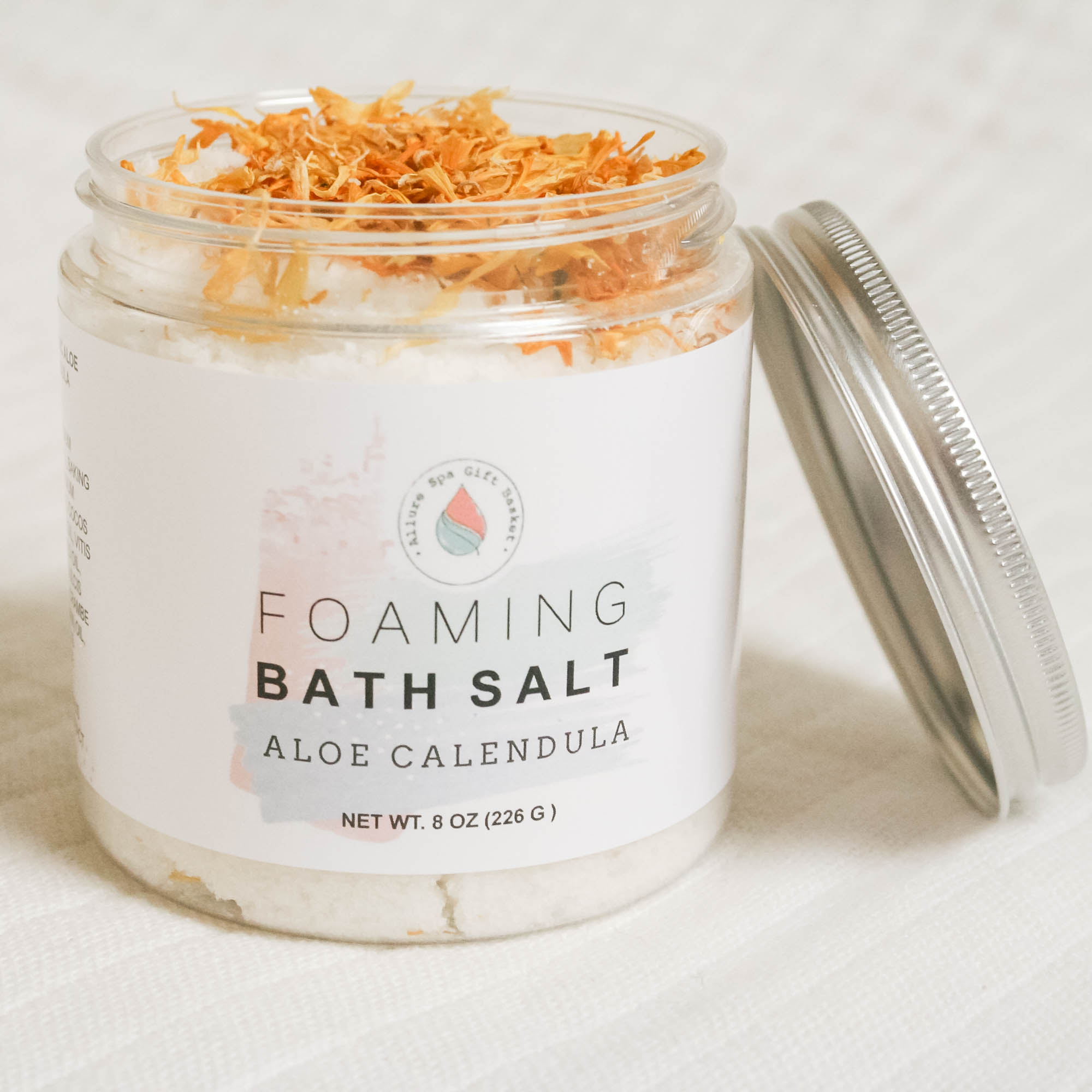 Aloe Calendula Foaming Bath Salt