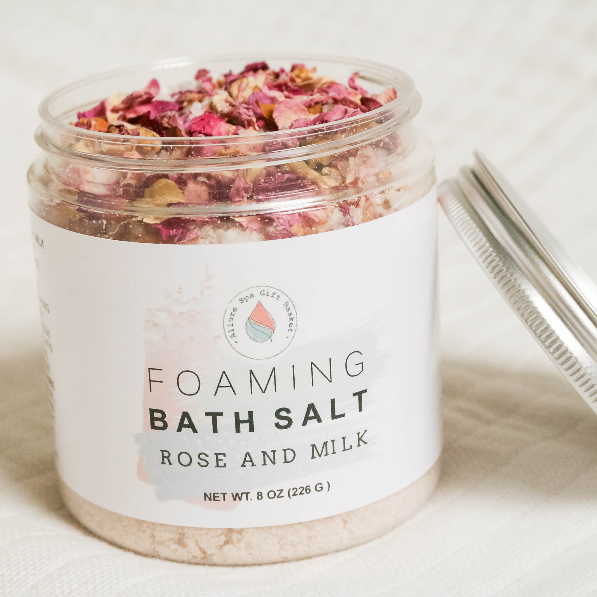 Rose and Milk Foaming Bath Salt