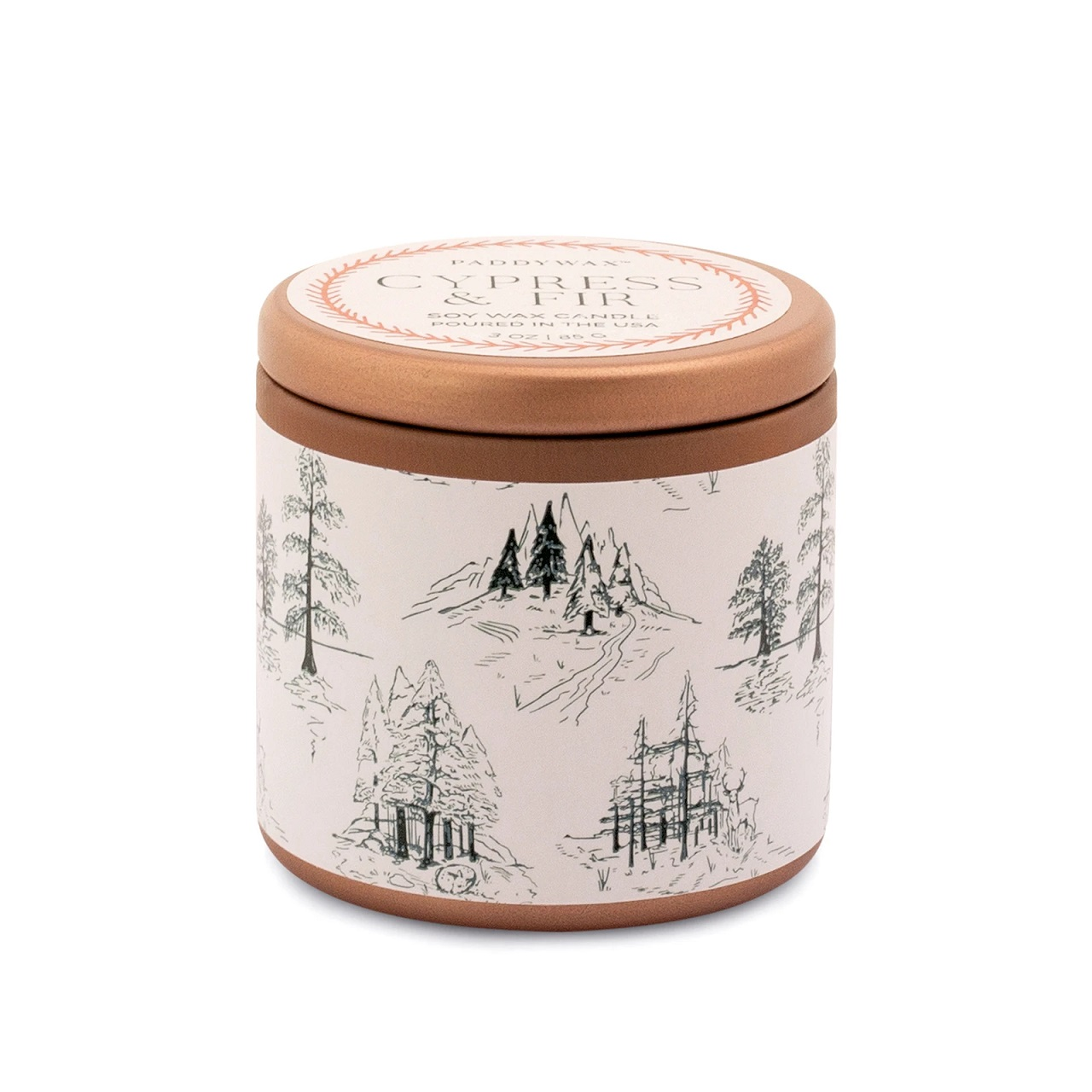 Cypress and Fir Candle