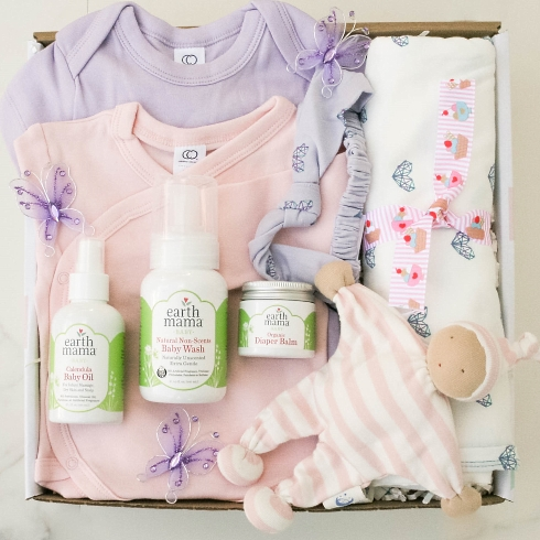 So Much Joy, Baby Girl gift basket from New Baby category