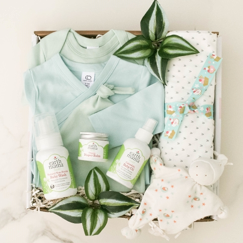 Oh, It's a Baby Boy gift basket from New Baby category