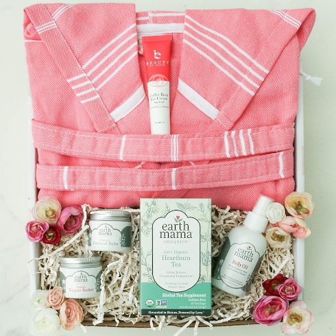 New Mom's Essential gift basket from New Mom category