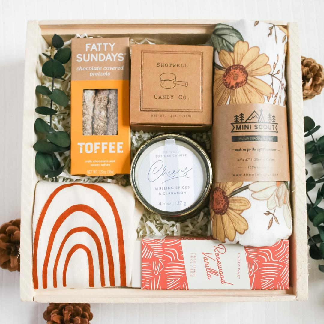 New Mom and Baby Gift Box from New Mom Gifts Category