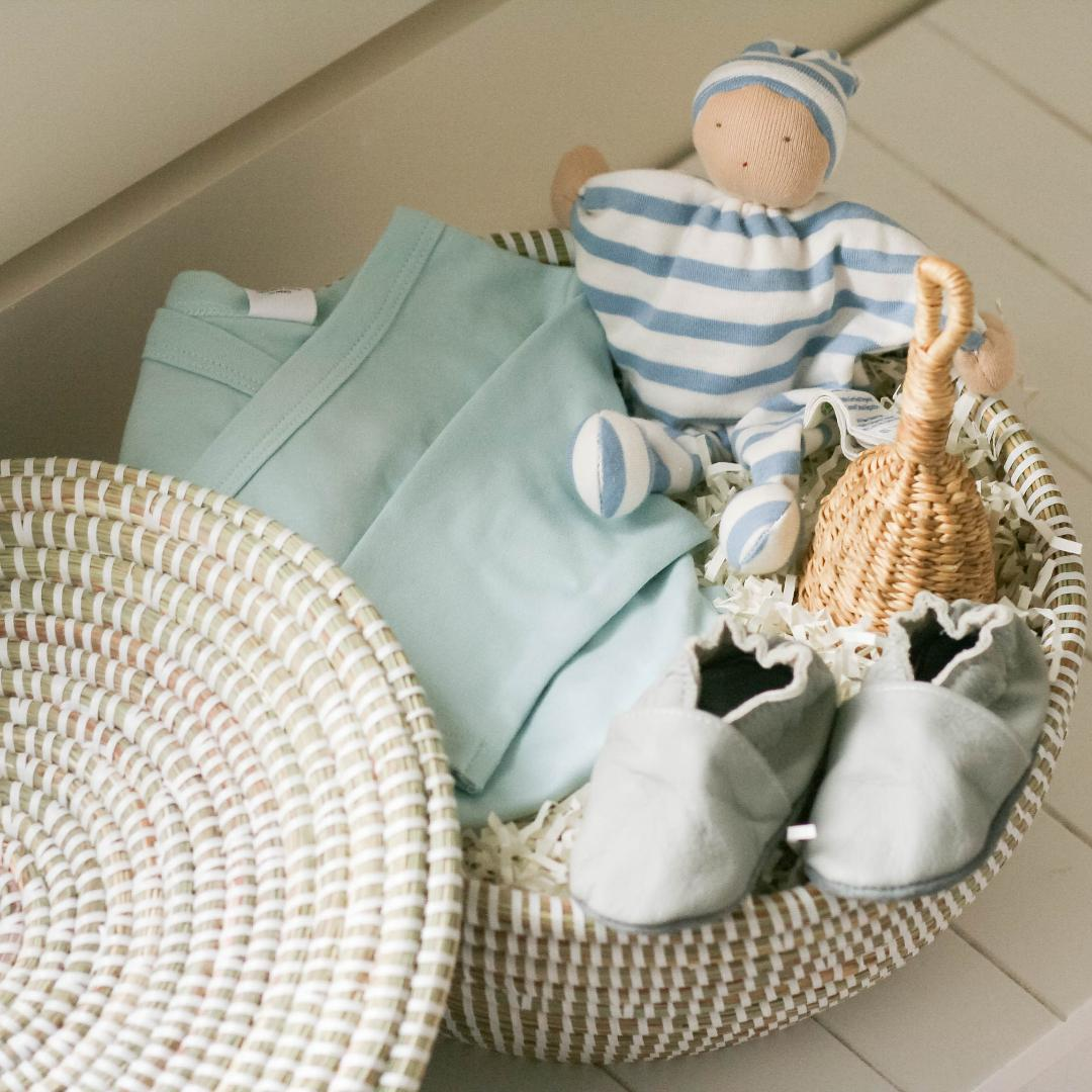 Baby Boy Gift Basket from New Baby category